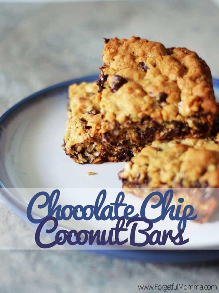 Chocolate Chip Coconut Bars