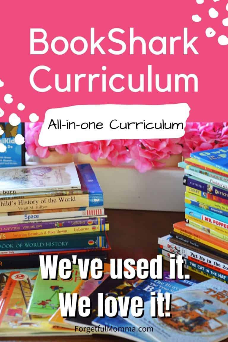 We're Using BookShark Curriculum