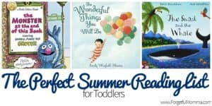 The Perfect Summer Reading List for Toddlers – Guest Post