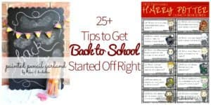 Tips to Get Back to School Started Off Right