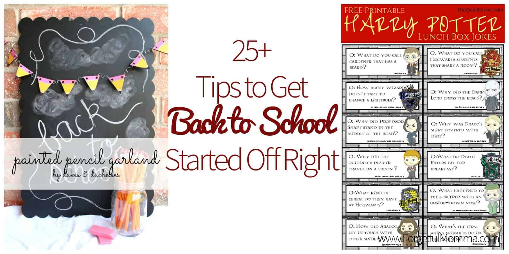 25+ Tips to Get Back to School Started Off Right