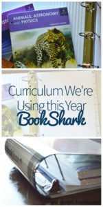 We're Using BookShark Curriculum this 2017/2018 Year