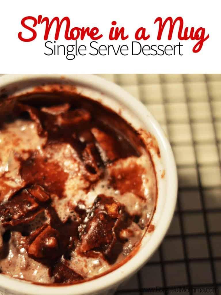 S'More in a Mug - Single Serve Dessert