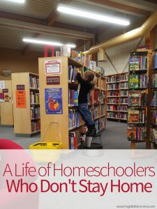 A Life of Homeschoolers Who Don't Stay Home