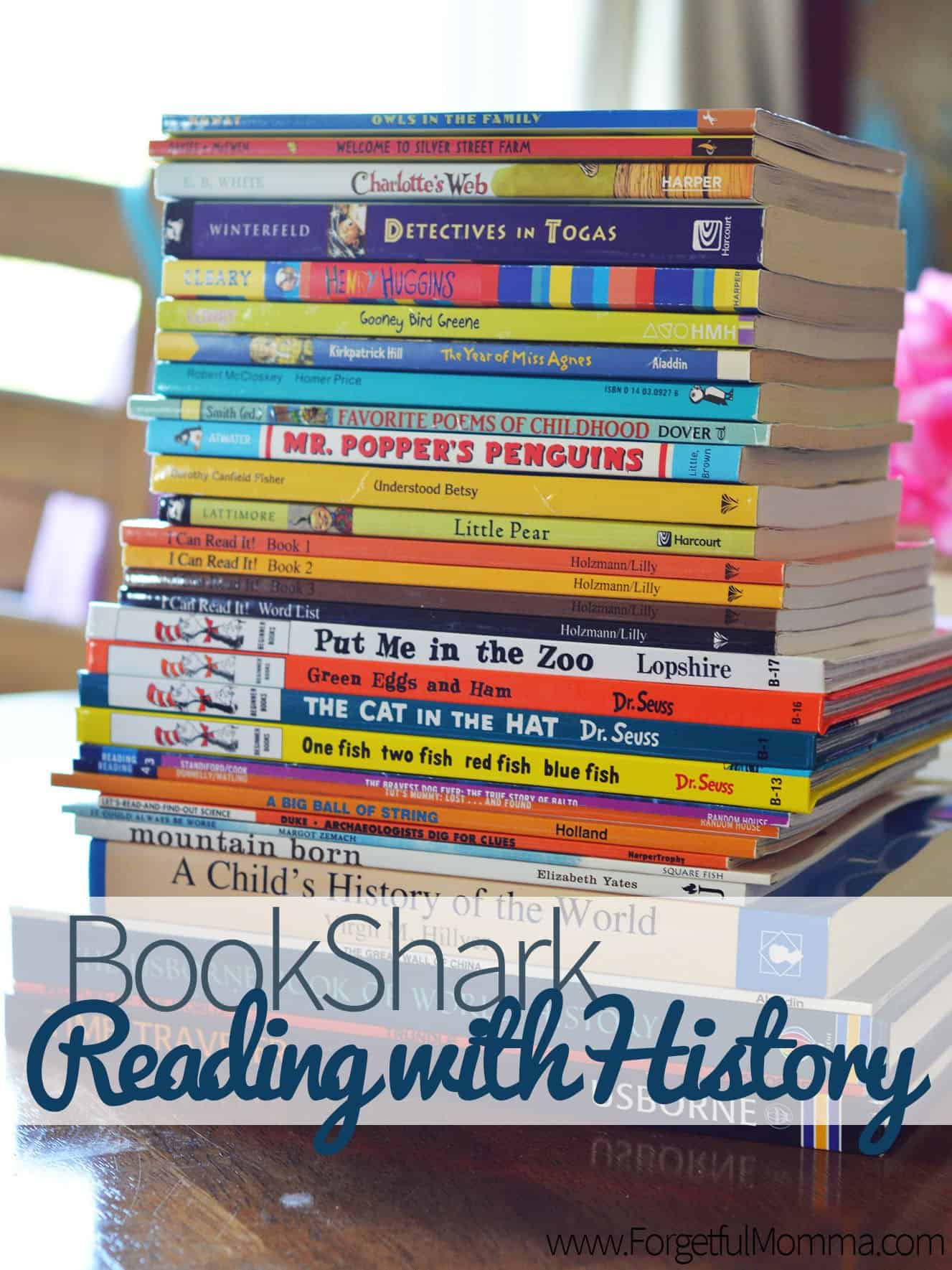 bookshark reading history homeschool secular curriculum package science