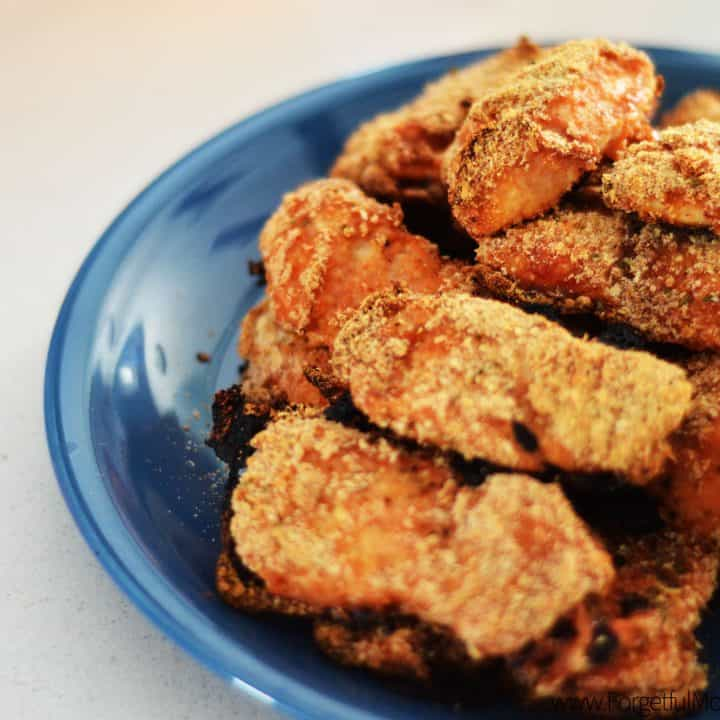 Simple BBQ Breaded Chicken