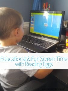 Educational and Fun Screen Time with Reading Eggs