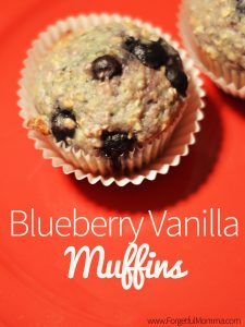 Blueberry Vanilla Muffins