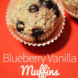 Blueberry Vanilla Muffin
