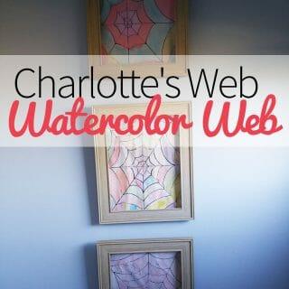 Charlotte's Web - Watercolor Web