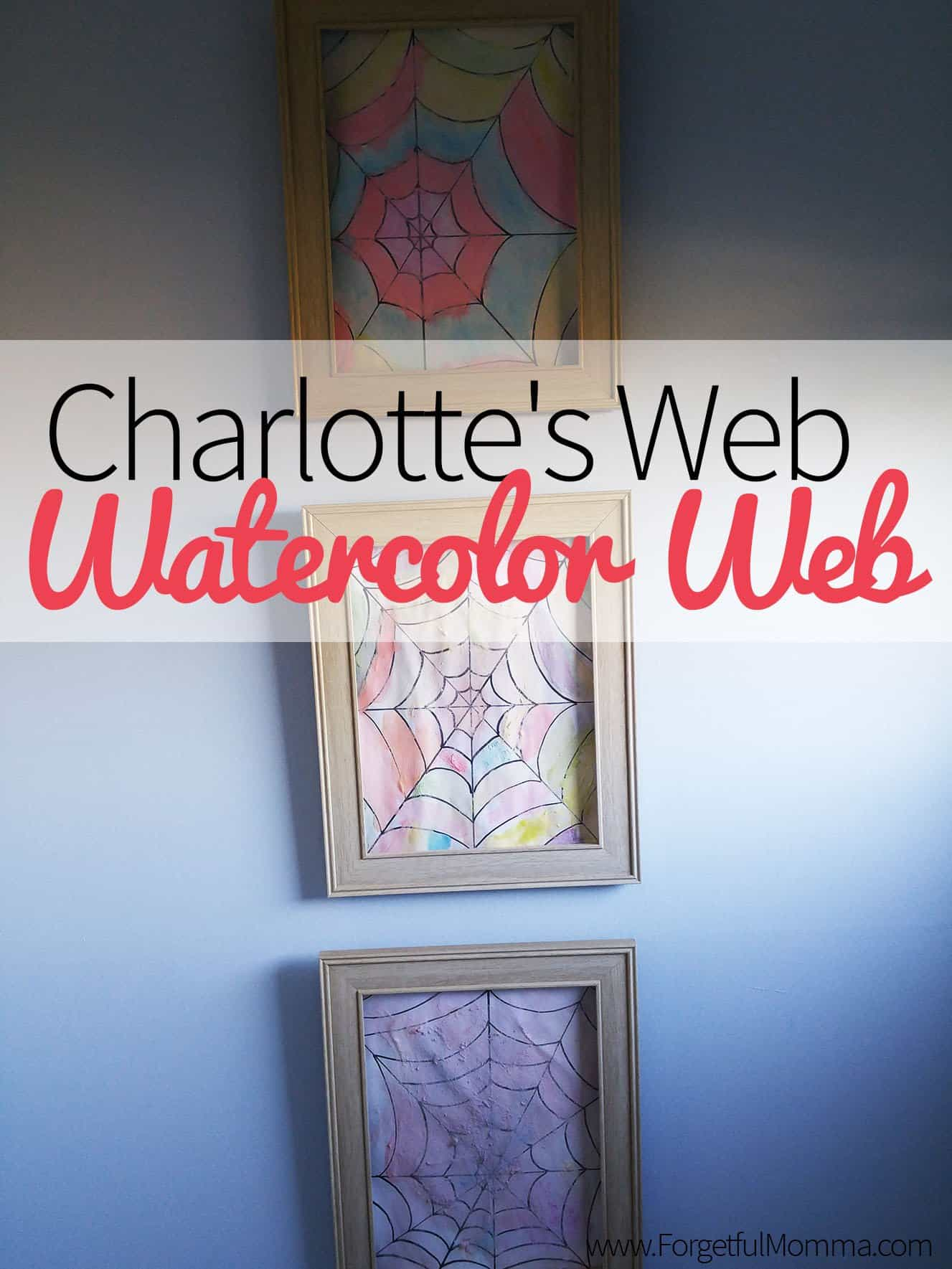 Charlotte's Web - Watercolor Web