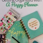 Getting Organized with A Happy Planner