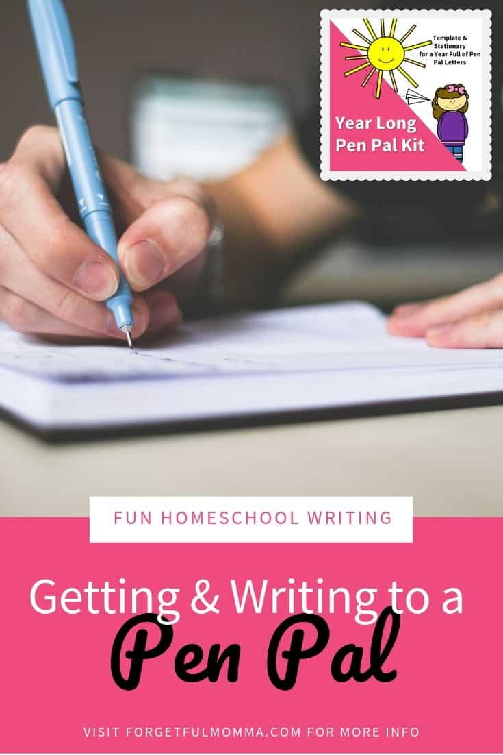 Getting and Writing to A Pen Pal