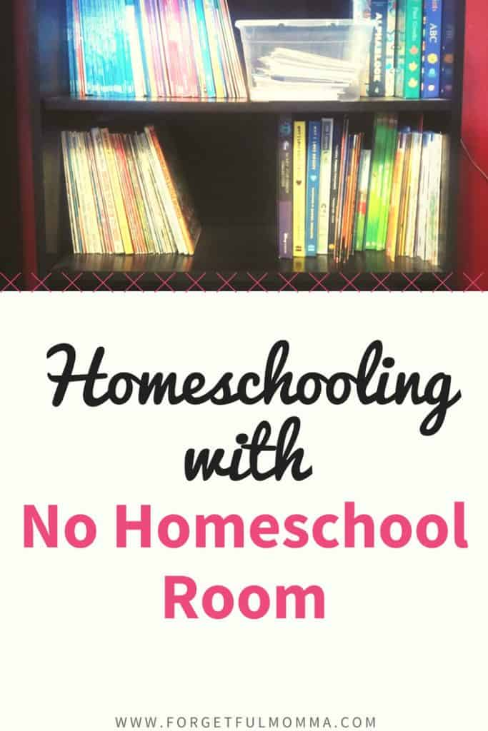 Homeschooling When There's No Homeschool Room