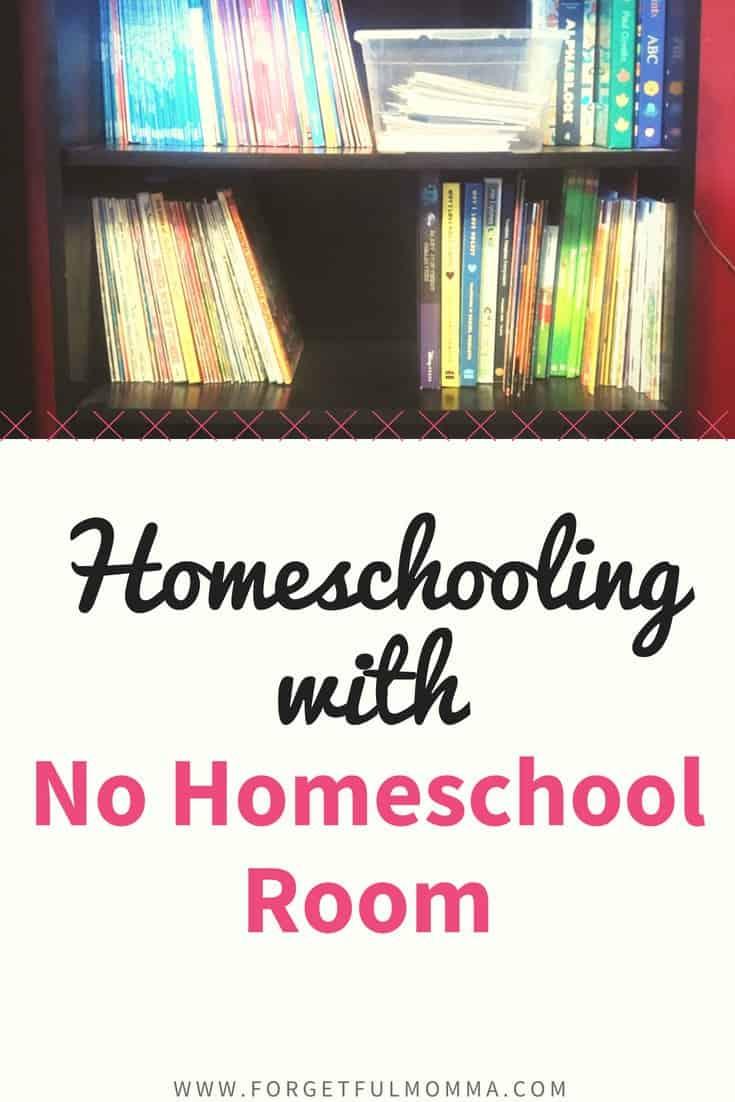 Homeschooling When There's No Homeschool Room