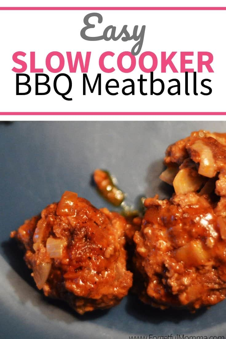 Easy Slow Cooker BBQ Meatballs