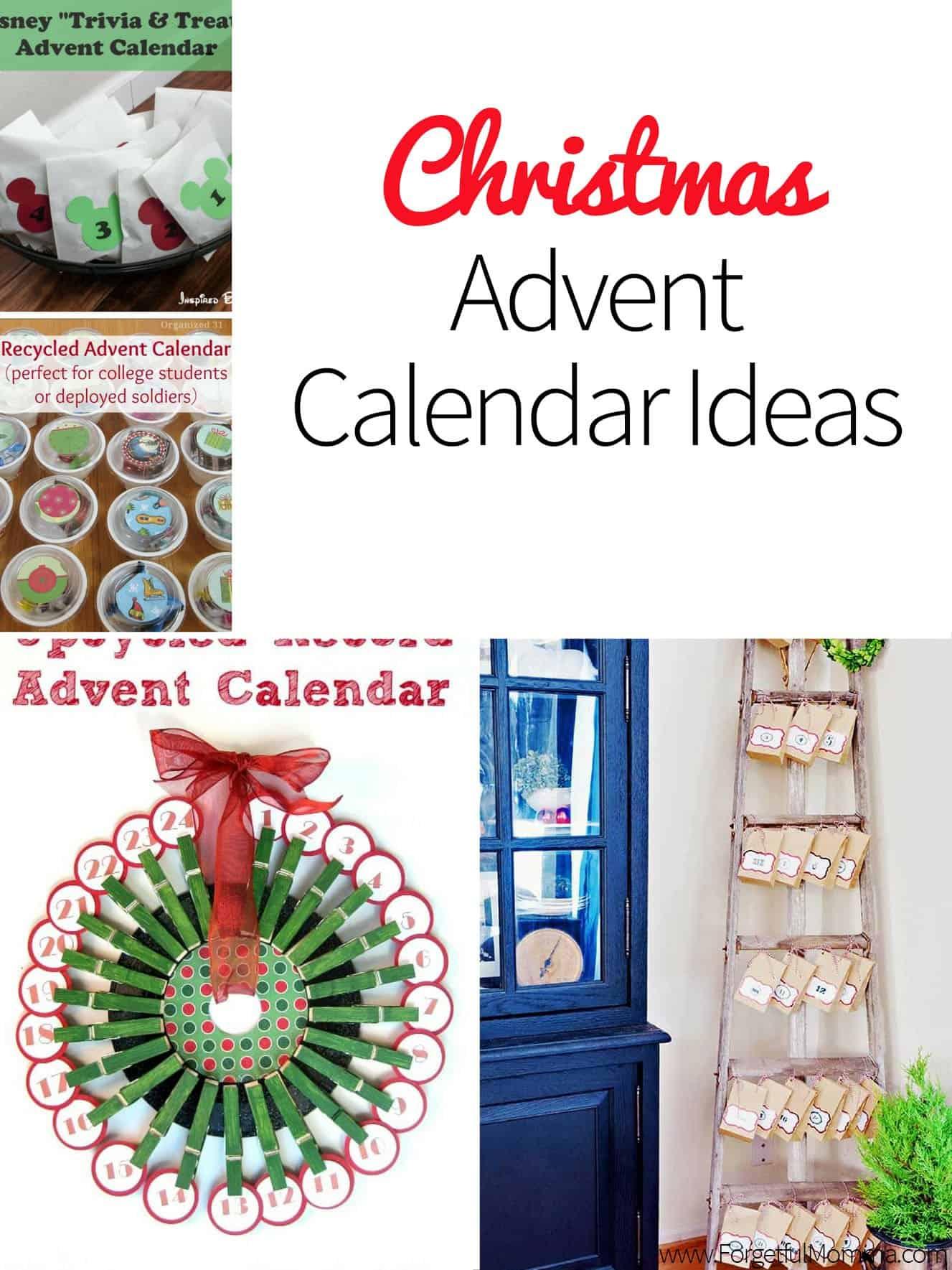 Christmas Calendar Ideas Year : Christmas advent calendar ideas forgetful momma
