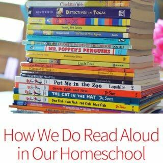 How We Do Read Aloud in Your Homeschool