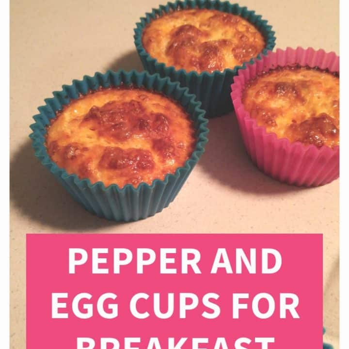 Pepper and Egg Cups for Breakfast