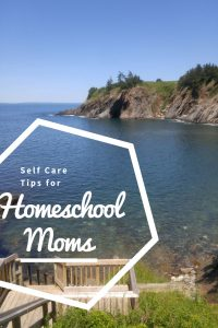 Self Care Tips for Homeschool Moms