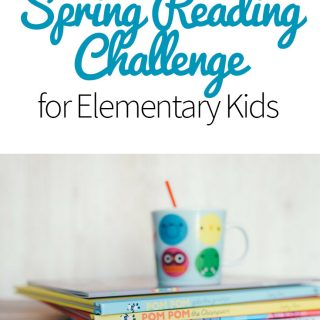 Spring Reading Challenge for Elementary Kids