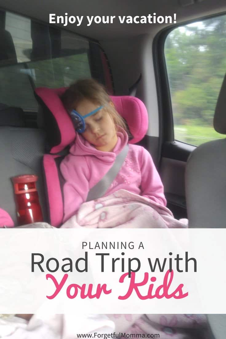Planning a Road Trip with Your Kids