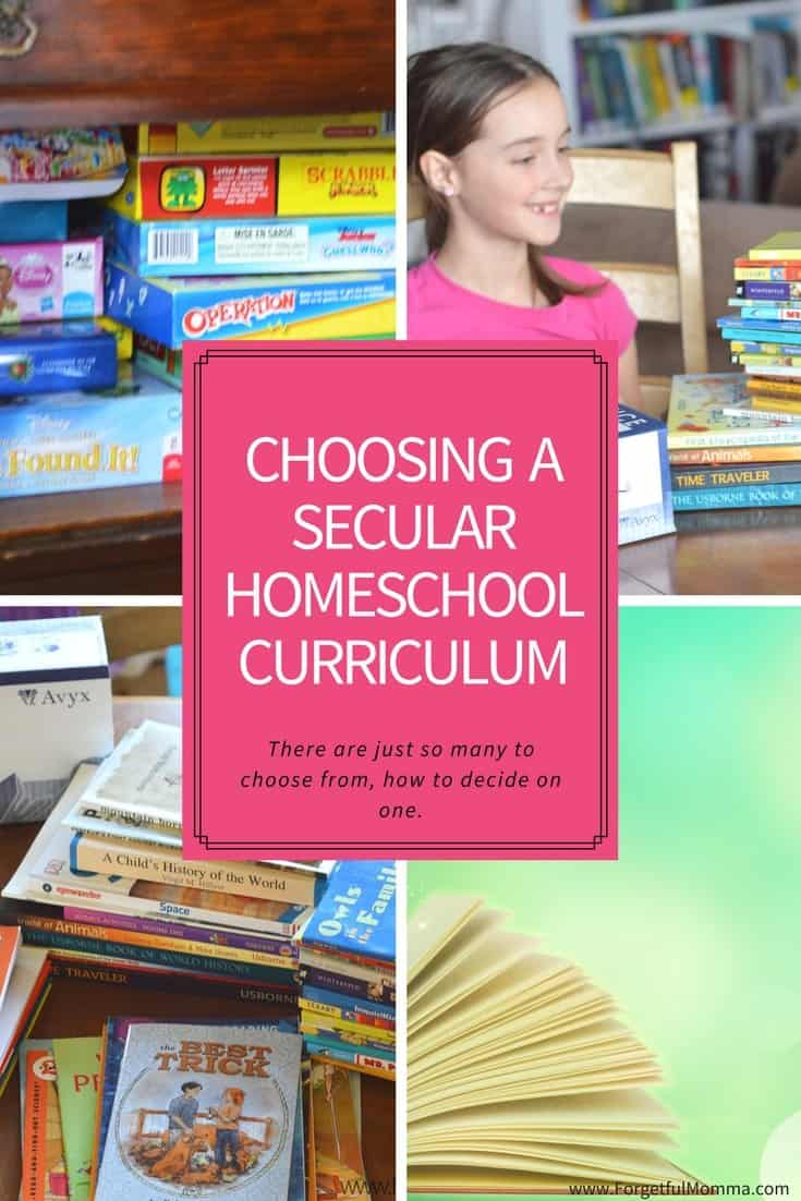 Choosing A Secular Homeschool Curriculum