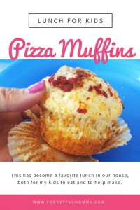 Pizza Muffins – Kids Lunch Time Favorite