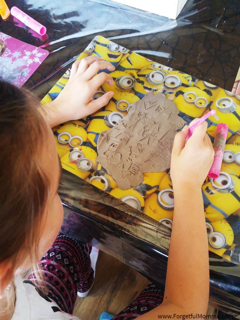 Make Homeschooling Exciting - hieroglyphs-creating