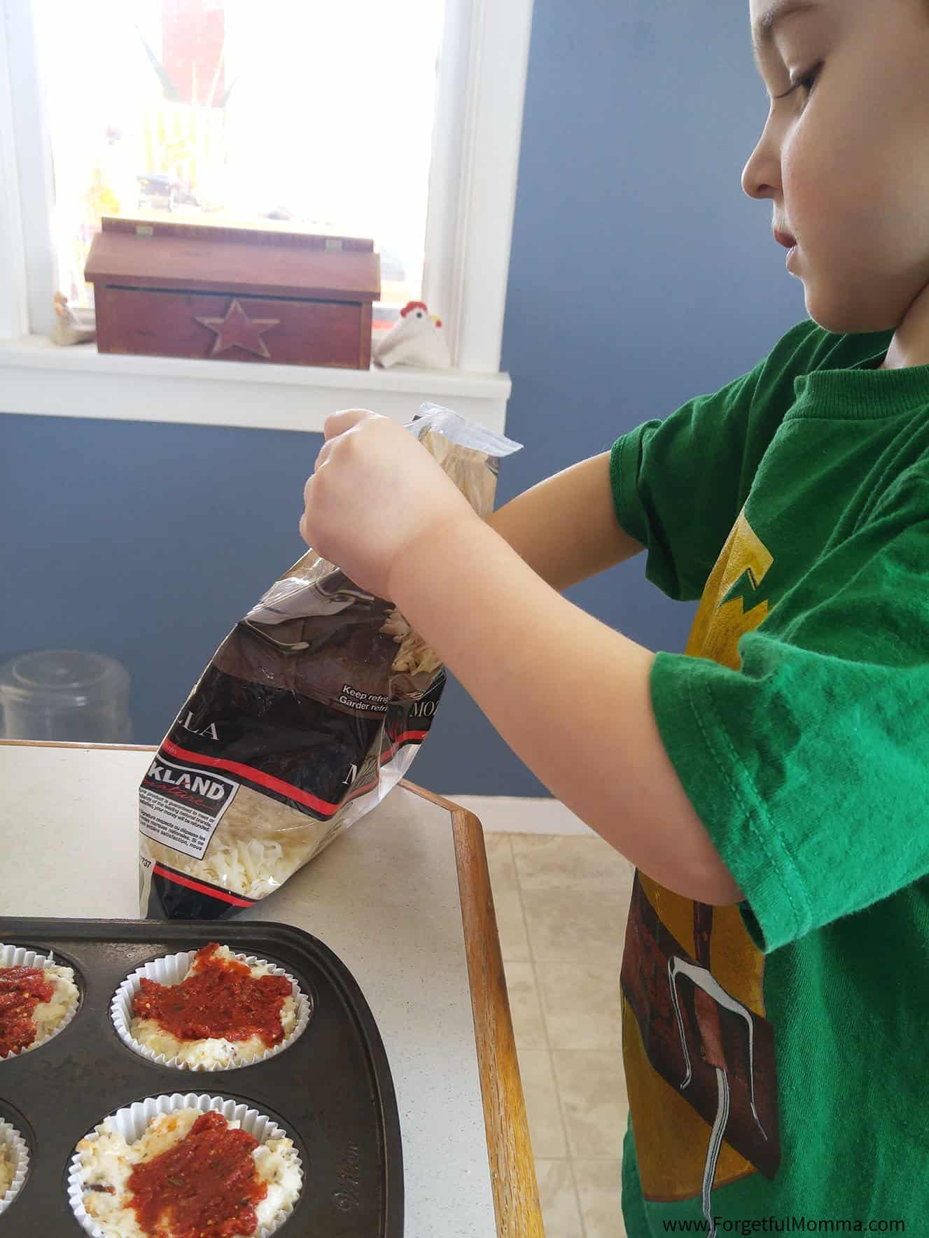 Pizza Muffins - Kids Lunch Time Favorite
