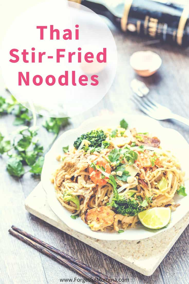 Thai Stir-Fried Noodles