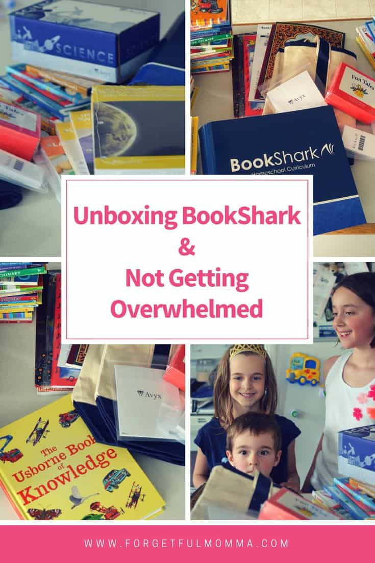 Unboxing BookShark Not Getting overwhelmed