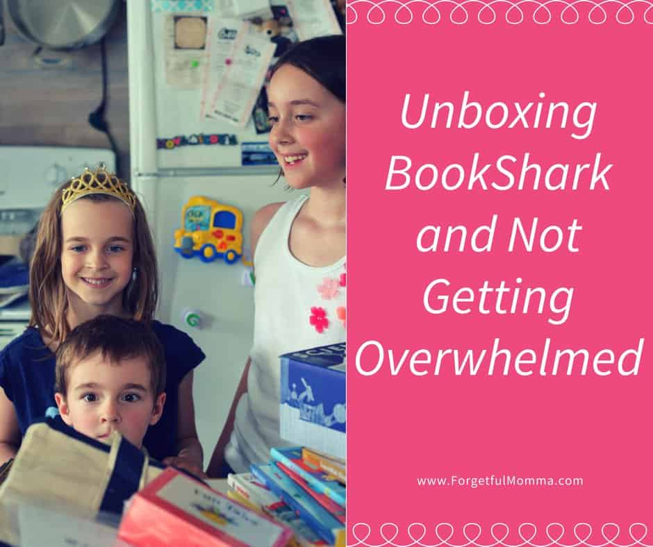 Unboxing BookShark and Not Getting Overwhelmed