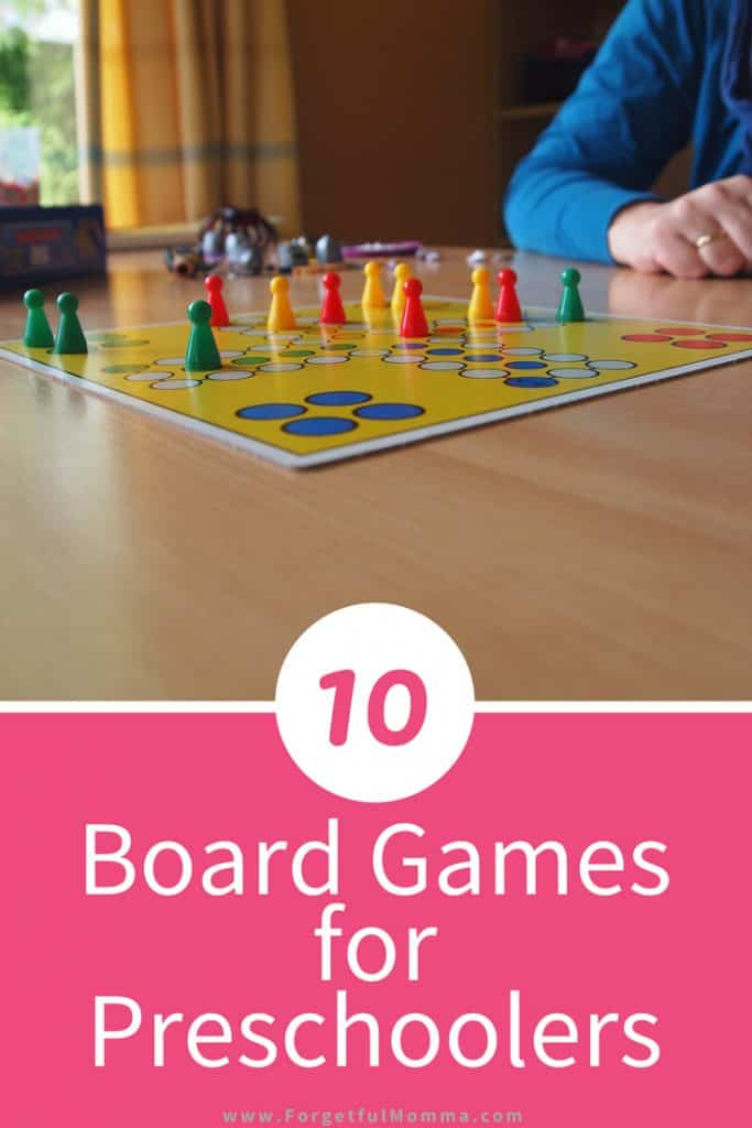 10 Board Games for Preschoolers