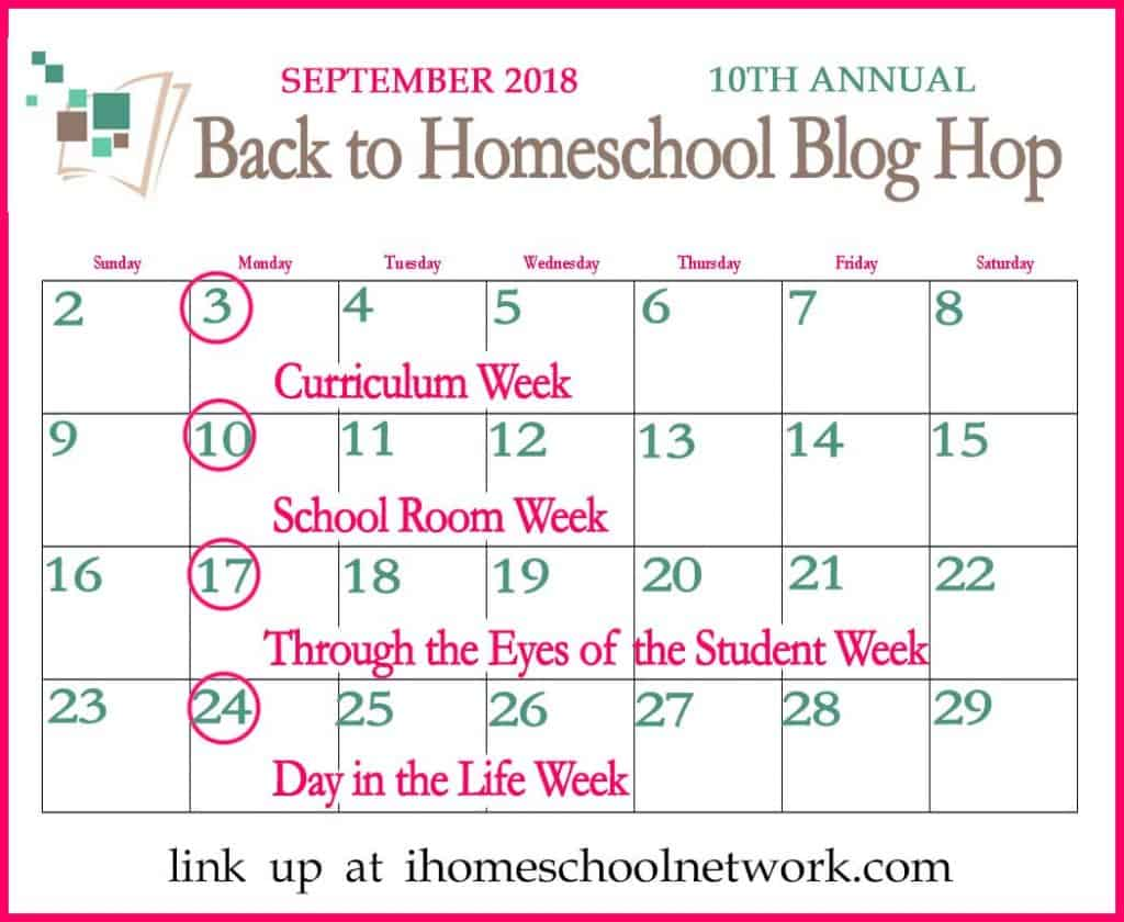 BTS-Blog-Hop-Sept-2018 What a Typical Homeschool Day Looks Like