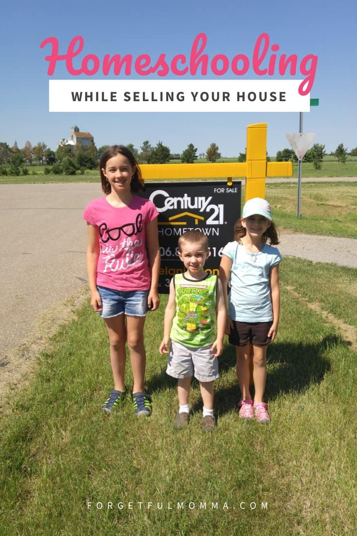 Homeschooling While Selling Your House