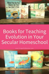 Books for Teaching Evolution in Your Secular Homeschool