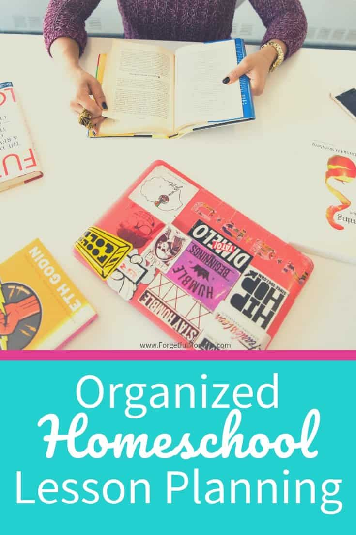 Organized Homeschool Lesson Planning