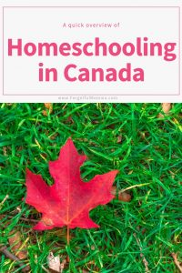 Homeschooling in Canada