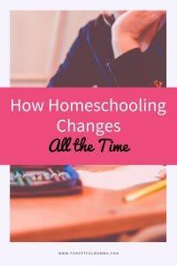 How Homeschooling Changes