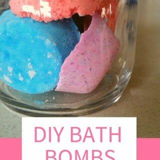 DIY Bath Bombs Without Citric Acid
