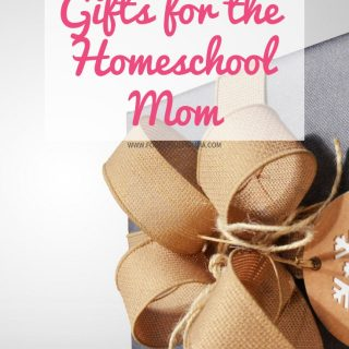 Gifts for the Homeschool Mom