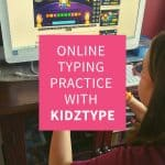 Online Typing Practice With KidzType