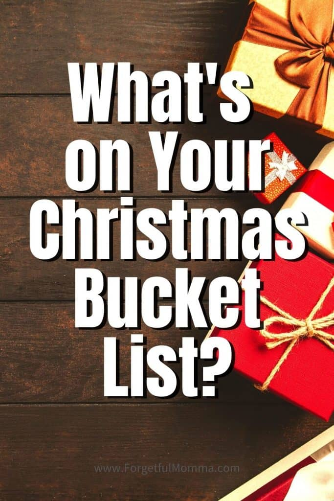 What's on Your Christmas Bucket List_