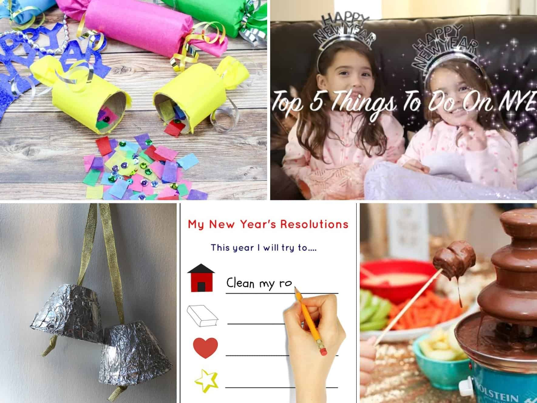 Bringing in the New Year with Your Kids