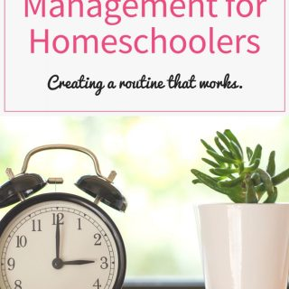 Time Management for Homeschoolers