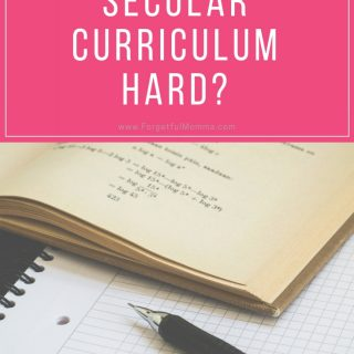 Why is Finding Secular Curriculum Hard