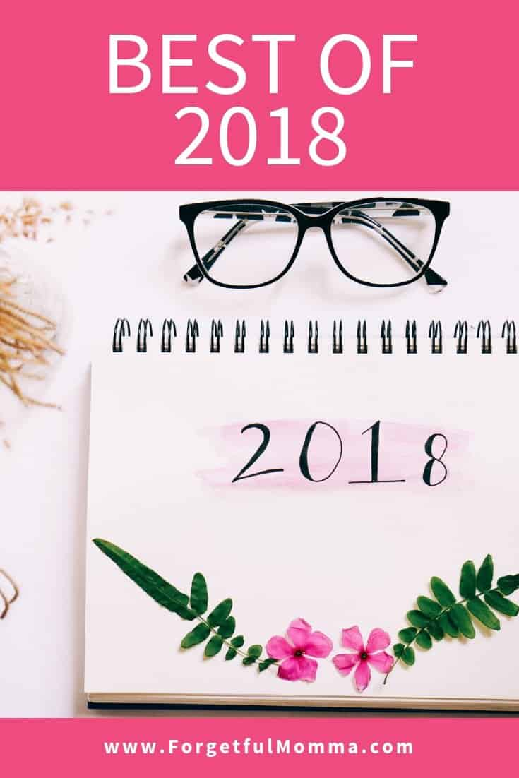 Best of 2018 on Forgetful Momma