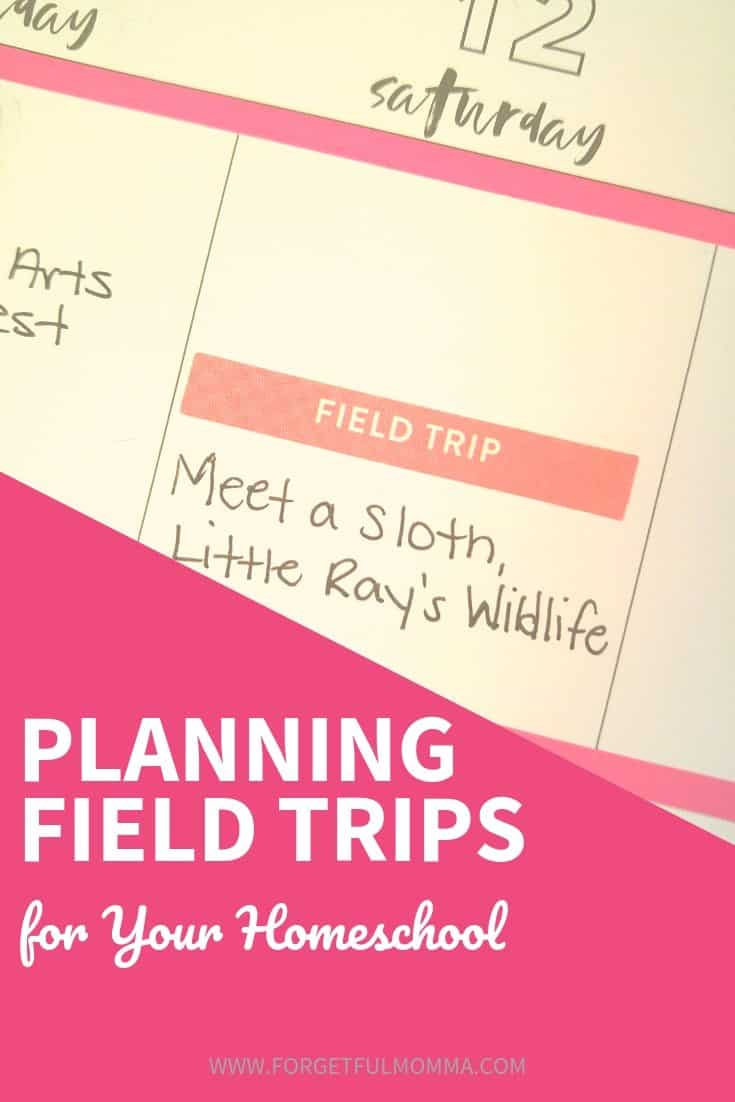 Planning Field Trips for Your Homeschool