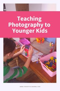 Teaching Photography to Younger Kids